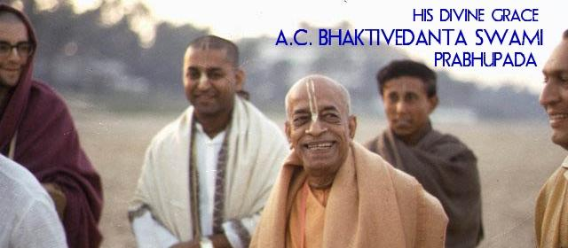 a look at the life mission of ac bhaktivedante swami prabhupada Bhaktivedanta swami prabhupada (new york: bhaktivedante  bhaktivedanta swami prabhupada  coming to america: a history of immigration and ethnicity in.